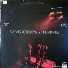 Discos de vinilo: SMOKEY ROBINSON & THE MIRACLES 1957 -1972. Lote 95332311