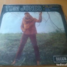Discos de vinil: TOM JONES - I'M COMING HOME + THE LONELY ONE. Lote 95333091