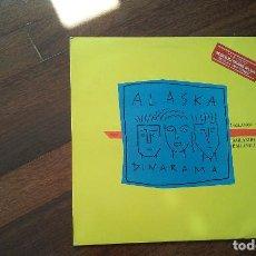 Discos de vinilo: ALASKA Y DINARAMA-BAILANDO MIX.MAXI. Lote 95335191