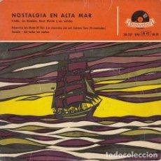 Discos de vinilo: FREDDY QUINN AND THE DOMINOS - NOSTALGIA EN ALTA MAR - EP ESPAÑOL DE VINILO #. Lote 245461935