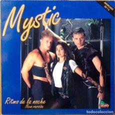 Discos de vinilo: MYSTIC : RITMO DE LA NOCHE [ESP 1991]. Lote 95340875