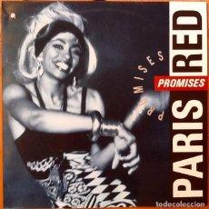 Discos de vinilo: PARIS RED : PROMISES [ESP 1991]. Lote 95341099