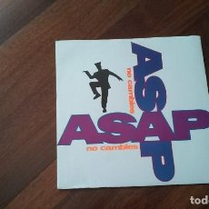 Discos de vinilo: ASAP-NO CAMBIES.MAXI. Lote 95347119