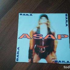 Discos de vinilo: ASAP-BAILA.MAXI. Lote 95349243