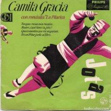 Discos de vinilo: CAMILA GRACIA CON RONDALLA LA PILARICA EP . Lote 95354223