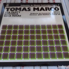 Discos de vinilo: TOMAS MARCO TEA PARTY MYSTERIA ROSA ROSAE. Lote 95361051