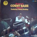 Discos de vinilo: LP - COUNT BASIE FEAT. JIMMY RUSHING - THE BEST OF VOL. 2 (DOBLE DISCO, GERMANY, CORAL 1973). Lote 95363219