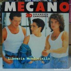 Discos de vinilo: MECANO. 20 GRANDES CANCIONES. CBS 1989. LP. Lote 95365071