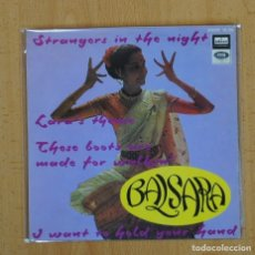 Discos de vinilo: BALSARA AND HIS SINGING SITARS - STRANGERS IN THE NIGHT + 3 - EP. Lote 95366696