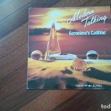 Discos de vinilo: MODERN TALKING-GERONIMO'S CADILLAC.MAXI. Lote 95367539