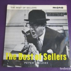 Discos de vinilo: THE BEST OF PETER SELLERS EP PARLOPHONE INGLES - BALHAM/ GATEWAY TO THE SOUTH +2 - HUMOR - CINE - . Lote 95369855