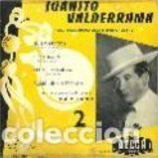 Discos de vinilo: JUANITO VALDERRAMA EP SELLO DECCA EDITADO EN FRANCIA. Lote 95370603
