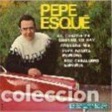 Discos de vinilo: PEPE ESQUE EP SELLO BELTER AÑO 1968 EDITADO EN ESPAÑA. Lote 95370879