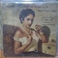 Discos de vinilo: LOLA FLORES / HECHO EN ARGENTINA . Lote 95371987