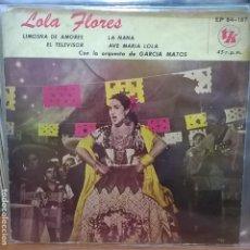 Discos de vinilo: LOLA FLORES / HECHO EN ARGENTINA . Lote 95372027