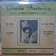 Discos de vinilo: GLORIA FORTUNY / HECHO EN ARGENTINA . Lote 95372199