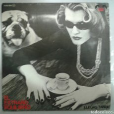 Discos de vinilo: EL EXTRAÑO EQUILIBRIO. LLEGAS TARDE /EL HURACÁN. SINGLE. FANTASMA DEL PARAISO.1982.. Lote 95374522