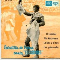 Discos de vinilo: ESTRELLITA DE PALMA / EL CORDOBES + 3 (EP 1965). Lote 95386643
