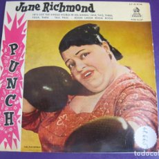 Discos de vinilo: JUNE RICHMOND EP ODEON 1959 HE'S GOT THE WHOLE WORLD IN HIS HANDS +3 EDICION ESPAÑOLA - JAZZ BLUES. Lote 95391611