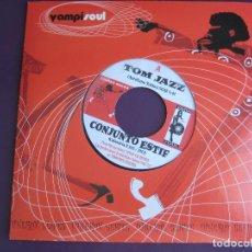 Discos de vinilo: CONJUNTO ESTIF + TOLDOS Y SU GRUPO SG VAMPISOUL - TOM JAZZ / NOCTURNO JAZZ . Lote 95391691