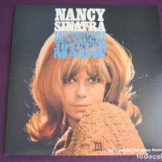 Discos de vinilo: NANCY SINATRA TRIBUTO EP - JOSETXO BICHO - BEN VAUGHN - THIN WHITE ROPE - MAOW + POSTER. Lote 95391955
