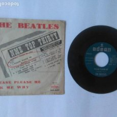Discos de vinilo: THE BEATLES PLEASE PLEASE ME AÑO 1963. Lote 95392863
