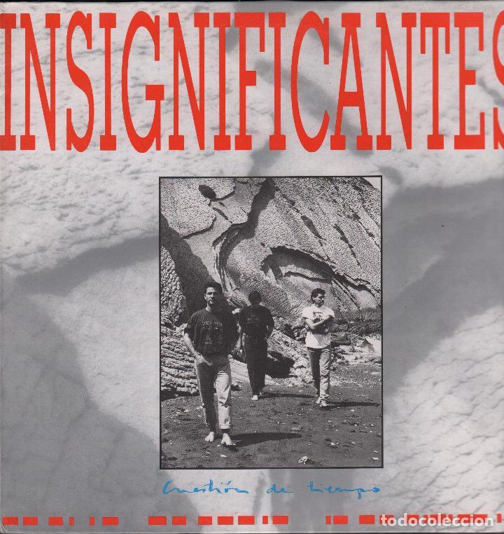 INSIGNIFICANTES - CUESTION DE TIEMPO - LP TWINS DE 1990 RF-3705, PERFECTO ESTADO (Música - Discos - LP Vinilo - Pop - Rock Internacional de los 90 a la actualidad)