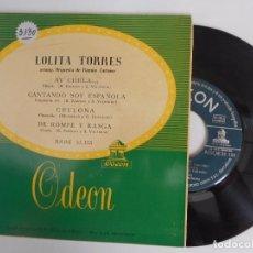 Discos de vinilo: LOLITA TORRES-EP AY CHULA +3-NUEVO. Lote 95398103
