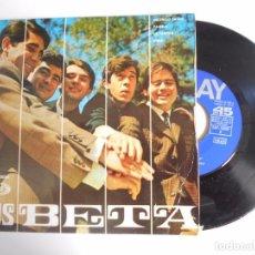 Discos de vinilo: LOS BETA-EP INCENDIO EN RIO +3. Lote 95398251