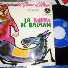 Discos de vinilo: LA BURRA DE BÁLAAM EP 1962. Lote 95409911