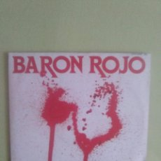 Discos de vinilo: SINGLE BARON ROJO HIJOS DE CAIN . SELLO SER DISCO 1986. Lote 95421875