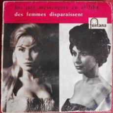 Discos de vinilo: THE JAZZ MESSENGERS - DES FEMMES DISPARAISSENT EP 1960 ED ESPAÑOLA - ART BLAKEY. Lote 95425383