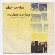 Discos de vinilo: ALPHAVILLE_SUENA COMO UNA MELODIA_7 SPAIN SINGLE_SANNI RECORDS_1984 RARO!!!. Lote 95426007