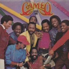 Discos de vinilo: LP CAMEO. FEEL ME. 1980 USA PROBADO, ESTADO NORMAL, CON ENCARTE, VER FOTOS. Lote 95434875