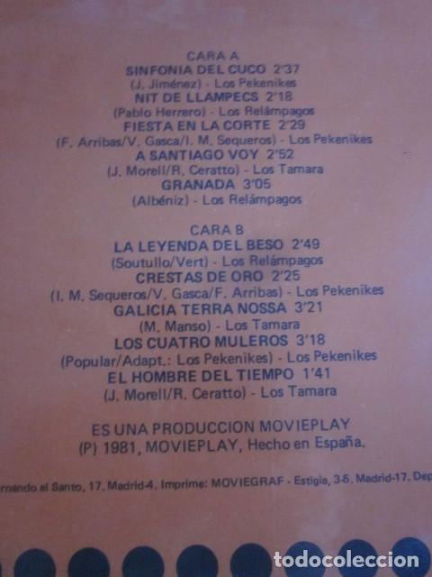 Discos de vinilo: AQUELLOS 60 VOL.4 - LP - LOS TAMARA ,LOS PEKENIQUES Y LOS RELAMPAGOS. - Foto 3 - 95437623