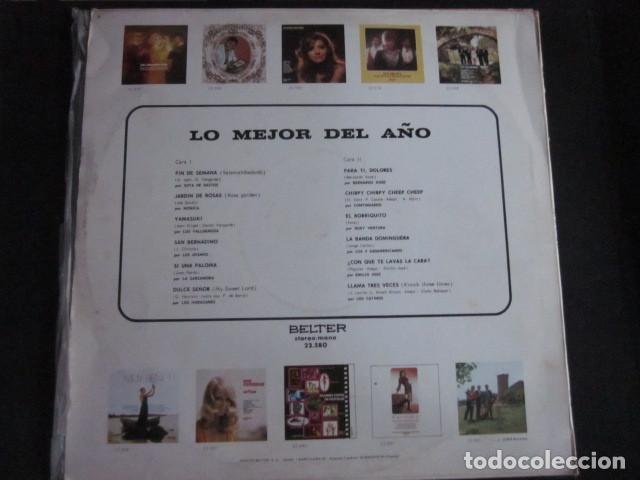 Discos de vinilo: LO MEJOR DEL AÑO - LP - LOS HURACANES,LOS MISMOS,MONICA,CONTINUADOS,LOS CATINOS,ETC. - Foto 2 - 95438135