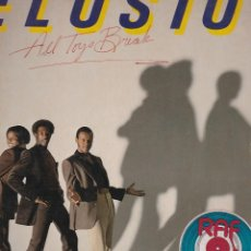 Discos de vinilo: LP ELUSION. ALL TOYS BREAK 1981. USA. DISCO PROBADO Y BIEN.. . Lote 95444675