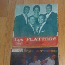 Discos de vinilo: THE PLATTERS, LOTE 2 EPS, LEER. Lote 95448943