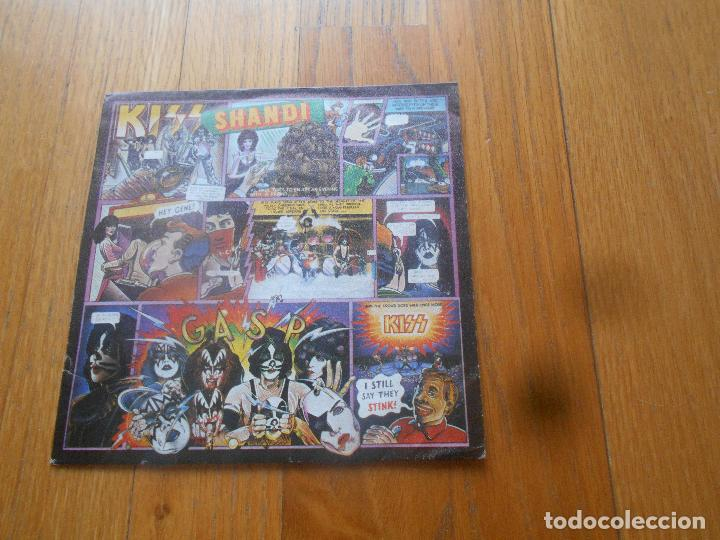 KISS, SHANDI, CASABLANCA (Música - Discos - Singles Vinilo - Heavy - Metal)