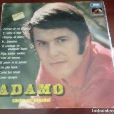 Discos de vinilo: ADAMO - CANTA EN ESPAÑOL - LP - 1968. Lote 95457015