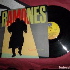 Discos de vinilo: RAMONES LP PLEASANT DREAMS SIRE, SPAIN/1981 CON ENCARTE. Lote 95487159