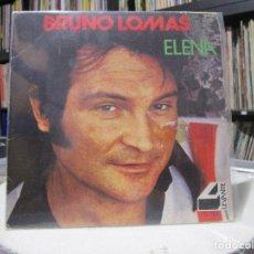Discos de vinilo: BRUNO LOMAS – ELENA. Lote 95487491