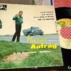 Discos de vinilo: HUGUES AUFRAY EP SANTIANO + 3.ESPAÑA 1964. Lote 95492923