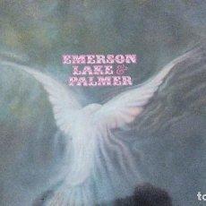 Discos de vinilo: EMERSON LAKE & PALMER EMERSON LAKE & PALMER LP SPAIN 1971. Lote 95495619