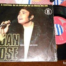 Discos de vinilo: JUAN JOSÉ SINGLE MÍRAME A LOS OJOS.1968. Lote 95495659