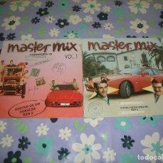 Discos de vinilo: LOTE 2 DISCOS DE VINILO MASTER MIX (1 Y 2). Lote 95497011
