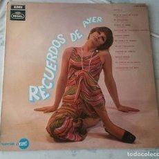Discos de vinilo: RECUERDOS DEL AYER (JUANITO SEGARRA, BONET DE SAN PEDRO, RAÚL ABRIL...) (EMI REGAL 1969). Lote 95505379