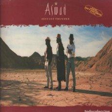Discos de vinilo: ASWAD - DISTAN'T THUNDER - LP ISLAND RECORDS DE 1988 RF-3719. Lote 95506191