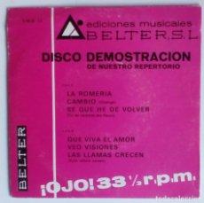 Discos de vinilo: LOS GRITOS - VEO VISIONES. Lote 95506539