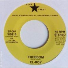 Discos de vinilo: EL-ROY FREEDOM. Lote 95509479